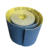 100 mm wide x 5 metre x 100 grit Hermes RB406J Flexible Cloth Roll