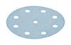 10 - 125 mm 60 grit FESTOOL Granat 9 hole Hook and Loop disc
