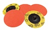 Qty of 5, 50 mm dia x 60 grit Norton R980P BLAZE Ceramic SPEED-LOK Discs