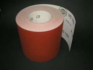76 mm x 1 metre x 120 grit Hermes VC153 Hook & Loop roll