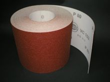150 mm x 1 metre x 80 grit Hermes VC153 Hook & Loop roll